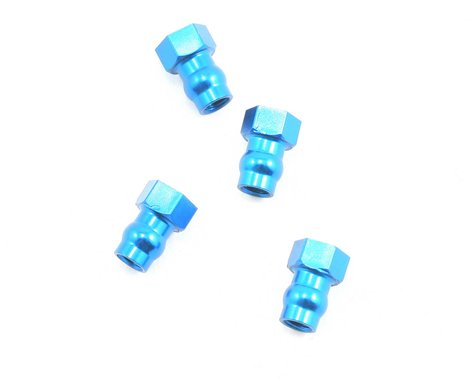 Team Associated Factory Team Shock Bushing (Blue) (4)