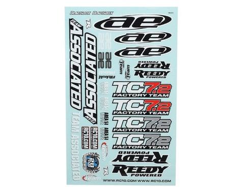 Team Associated TC7.2 Decal Sheet