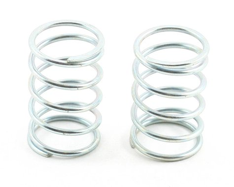 Team Associated Sedan Shock Spring Set (Silver - 14.5lb) (2)