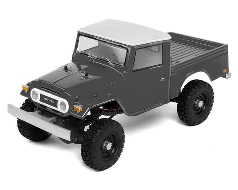 SCRATCH & DENT: Team Associated CR12 Toyota FJ45 Truck RTR 1/12 4WD Rock Crawler (Grey)