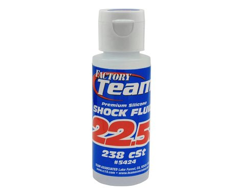 Team Associated Silicone Shock Oil (2oz) (22.5wt)