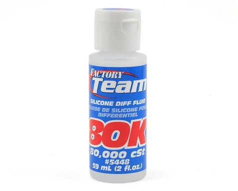 Team Associated Silicone Differential Fluid (2oz) (80,000cst)