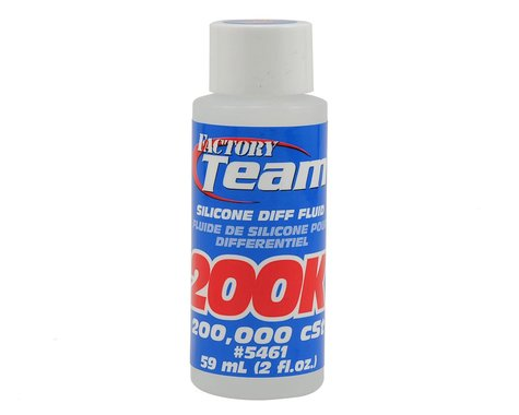 Team Associated Silicone Differential Fluid (2oz) (200,000cst)