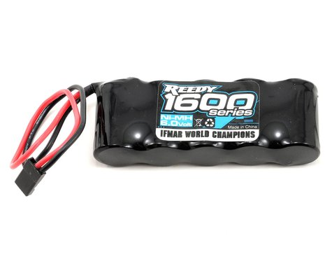 Reedy 1600 Series NiMH Flat Receiver Pack (6.0V/1600mAh)