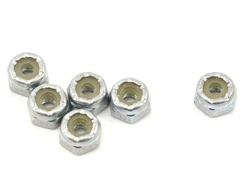 Team Associated 4-40 Steel Front Wheel Locknut Set (6)