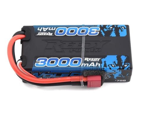 Reedy WolfPack 2S Hard Case Shorty 30C LiPo Battery (7.4V/3000mAh)