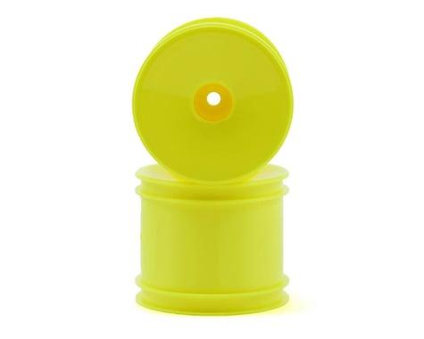 Team Associated 12mm Hex Stadium Truck Dish Wheel (2) (Yellow)