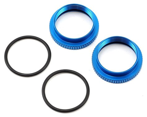 Team Associated 20mm Aluminum Spring Collars (2)