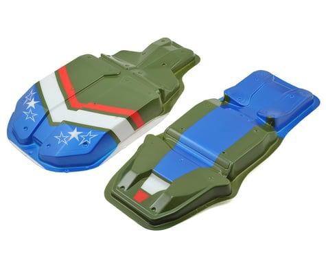 Team Associated Nomad Body Set (Green)
