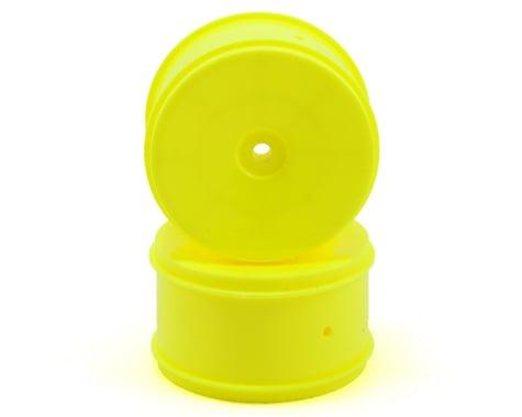 Team Associated 12mm Hex 61mm Rear Wheel (2) (Yellow)