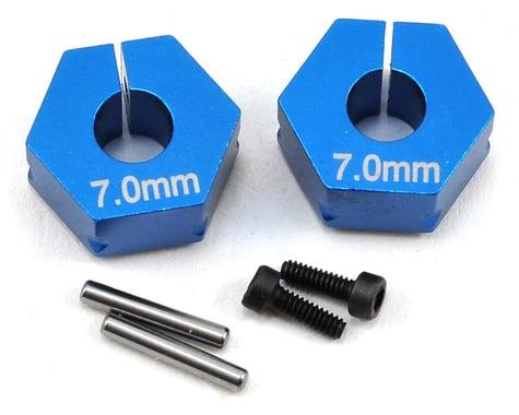 Team Associated 7.0mm Factory Team Aluminum Clamping Wheel Hex (2)