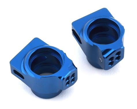 Team Associated B6/B6D Factory Team Aluminum Rear Hub Set (Blue)