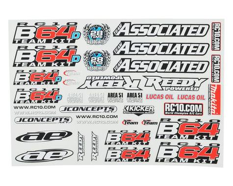 Team Associated B64 / B64D Decal Sheet