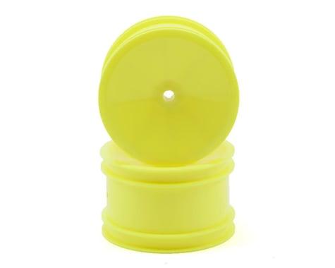 Team Associated 2.2 Rear Wheel (Yellow) (2) (B4/B44) (Pins)