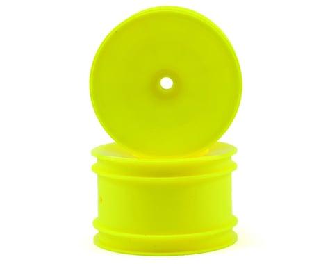 Team Associated 12mm Hex 2.2 Rear Hex Wheels (2) (B6/B64) (Yellow)