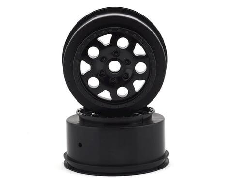 Team Associated KMC Short Course Wheels (Black) (2) (SC10 Front)