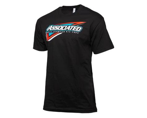 Team Associated Tri T-Shirt (Black) (M)