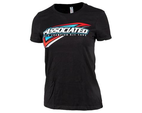 Team Associated Women's Tri T-Shirt (Black)