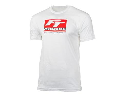 Team Associated Factory Team T-Shirt (White) (M)
