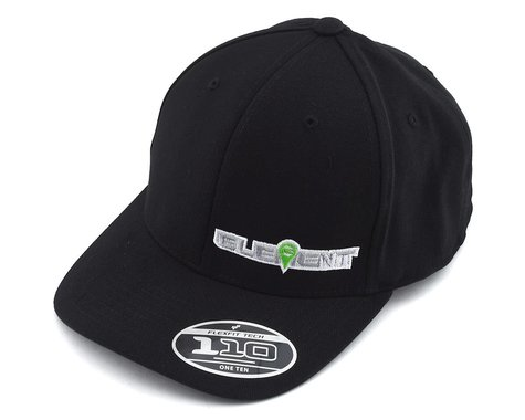 Element RC Curved Bill Snapback Hat (Black) (One Size Fits Most)