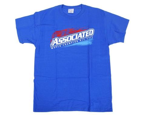 Team Associated 2013 Worlds T-Shirt (Blue) (M)