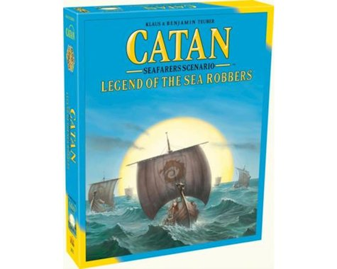 Asmodee Fantasy Flight Games Catan: Legend of the Sea Robbers Board Games