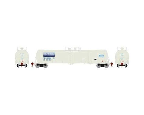 Athearn TEIX 30202 30,000 Gallon Ethanol Tank N Scale Train Car (White)