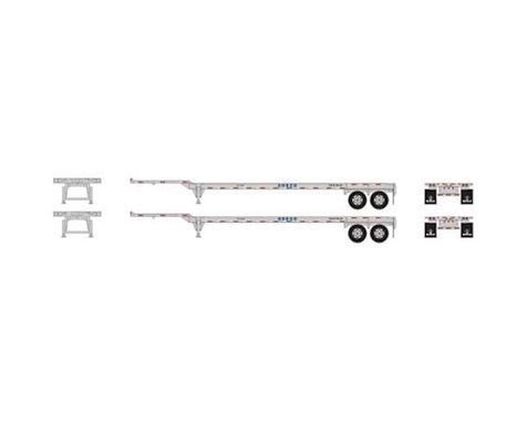 Athearn HO RTR 45' Container Chassis, COSCO (2)