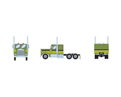Athearn HO RTR KW Tractor, Two-Tone Green