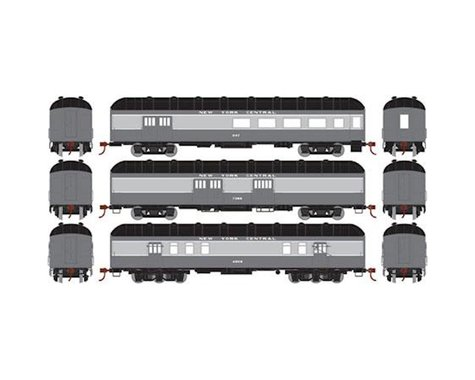 Athearn HO RTR Arch Roof Set, NYC (3)