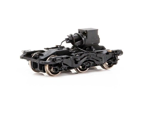 Athearn HO Power Truck Black with Steerable Assy ES44 GEVO(4)