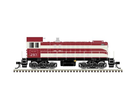 Atlas Railroad HO S2 w/DCC & Sound, Undecorated/Vertical Shutters