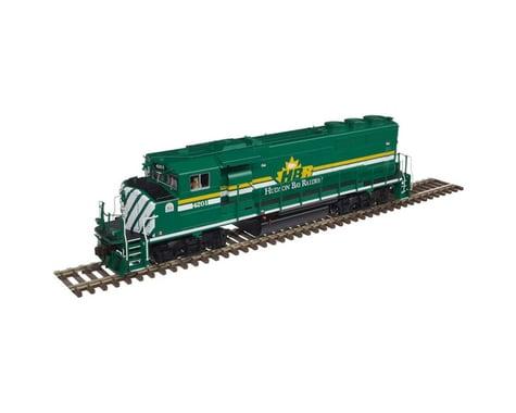HO GP40-2W Hudson Bay Railway #4201