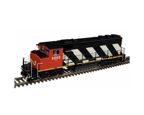 Atlas Railroad HO GP40-2W CN Zebra Stripes #9623