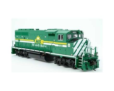 HO GP40-2W w DCC & Sound Hudson Bay Railway #4200