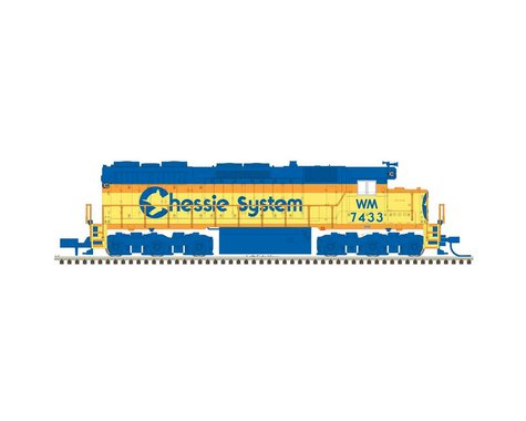 Atlas Railroad HO SD35 w DCC & Sound CHSY WM #7434