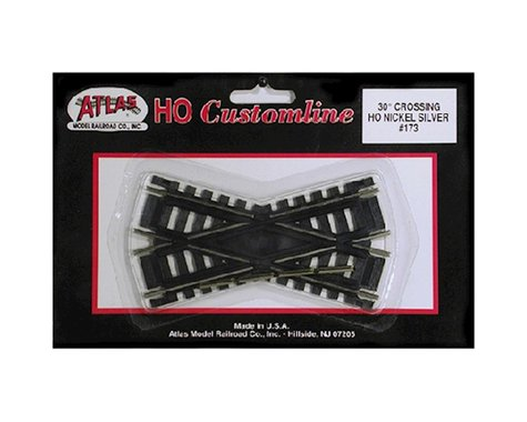 Atlas Railroad HO Code 100 30 Degree Custom Crossing