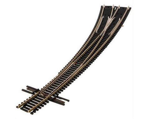 Atlas Railroad N Code 55 Curved Left-Hand Turnout