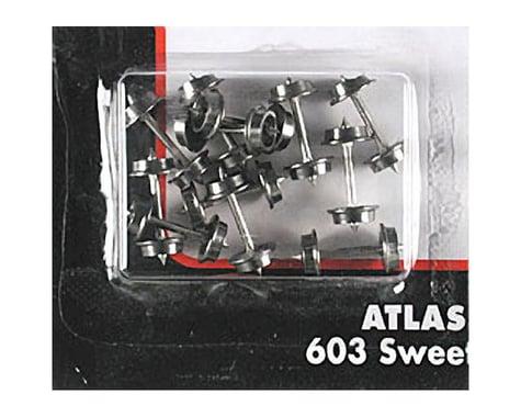 Atlas Railroad N 33'' Blackened Metal Wheels (12Axles/Set) (12Set