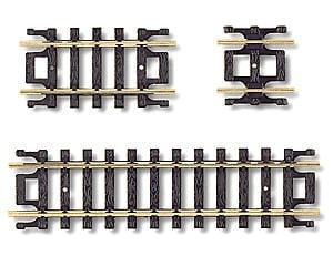 Atlas Railroad N-Gauge Code 80 Snap-Track Straight Assortment (10)