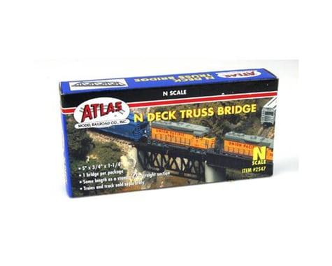 Atlas Railroad N Deck Truss Bridge