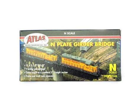 Atlas Railroad N Plate Girder Bridge