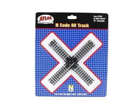 Atlas Railroad N Code 80 90 Degree Crossing