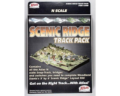 Atlas Railroad N Scenic Ridge Track Pack