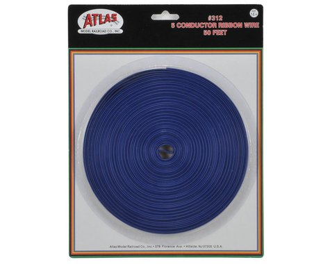 Atlas Railroad 5 Conductor Ribbon Wire (50')