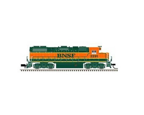 Atlas Railroad N GP38-2 w DCC BNSF #2277