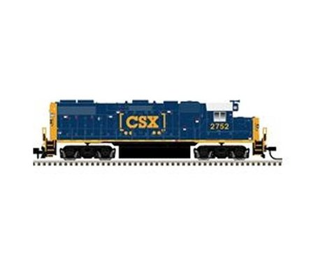Atlas Railroad N GP38-2 w DCC CSX YN3b #2750