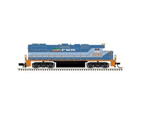 Atlas Railroad N GP38-2 w DCC FNM #9245