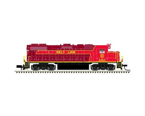 Atlas Railroad N GP38-2 w DCC NPBL #5260