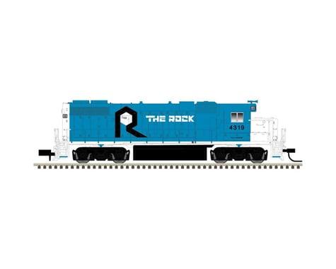 Atlas Railroad N GP38-2 w DCC RI #4319